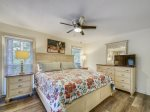 Master Bedroom with King Bed at 11 Wildwood
